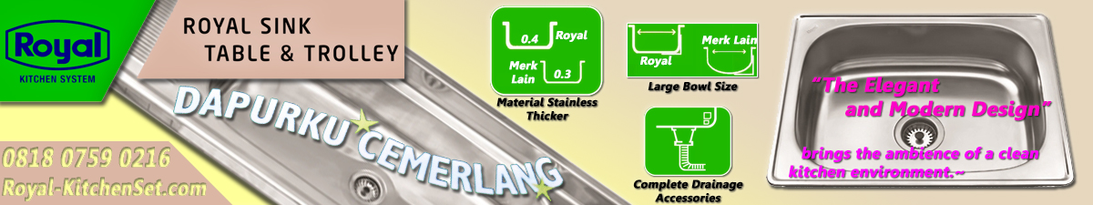 OTHER INFORMATION GAMBAR LIST DAN DETAIL banner produk royal kitchenset