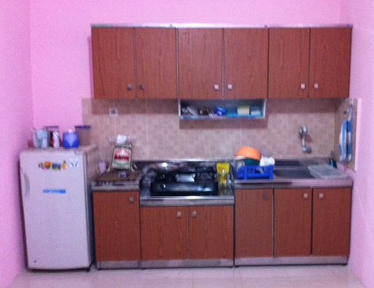 Tambora jakarta barat kitchen set minimalis royal for Royal kitchen set harga